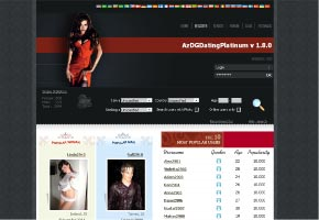 AzDGDatingPlatinum is the most powerful Dating script working on PHP and MySQL easy Screen Shot